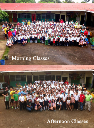 ST 2013 Morning Aft Classes